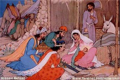 المسيح فى إيران Behzad_magi